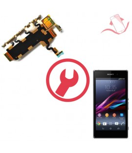 Remplacement nappe volume Sony Xperia Z1 L39h