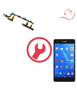 Remplacement nappe power volume Sony Xperia Z3 compact D5803