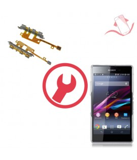 Remplacement nappe power volume Sony Xperia Z1 compact M51w
