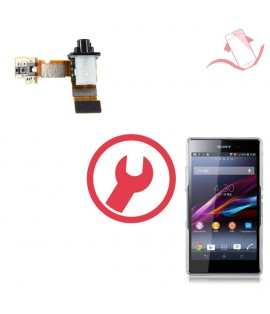 Remplacement nappe jack Sony Xperia Z1 compact M51w