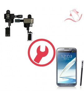 Remplacement nappe jack Samsung Galaxy Note 2 N7100