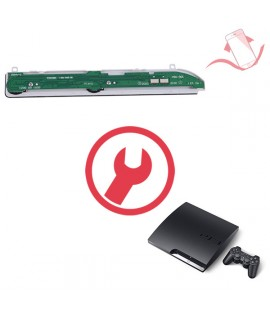 Remplacement  carte power reset PS3 Slim