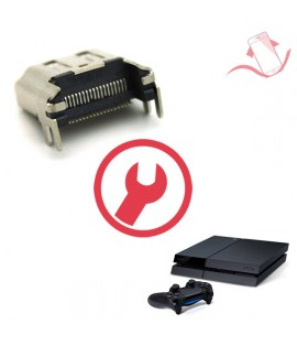 Remplacement port HDMI PS4