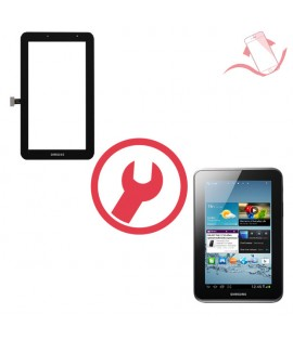 """Remplacement vitre tactile Galaxy Tab 2 7"""" P14800"""