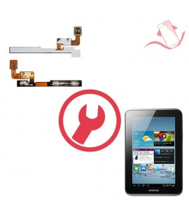 """Remplacement nappe volume power Galaxy Tab 2 7"""" P14800"""