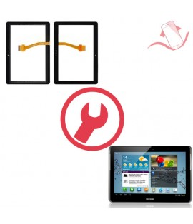 """Remplacement vitre tactile Galaxy Tab 2 10.1"""" P5100"""