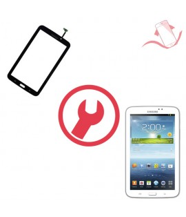 """Remplacement vitre tactile Galaxy Tab 3 7"""" P3200 T210 Montpellier"""