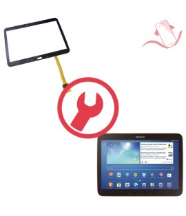 """Remplacement vitre tactile Galaxy Tab 3 10.1"""" P5200 wifi"""