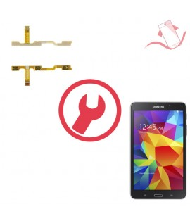 """Remplacement nappe volume power Galaxy Tab 4 7"""" T230"""