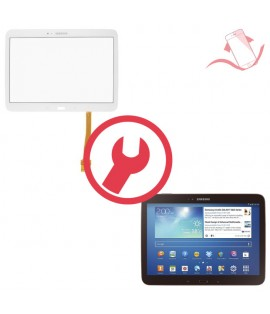 "Remplacement vitre tactile Galaxy Tab 3 10.1"" P5210 3G"