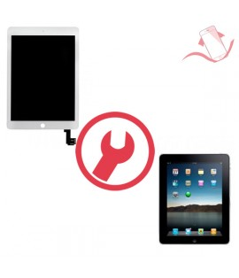 Remplacement vitre tactile + LCD ipad 4 Montpellier