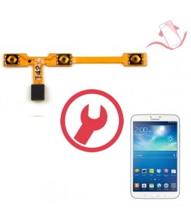 """Remplacement nappe power volume Galaxy Tab 3 8"""" T1480"""
