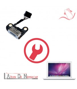 Remplacement Connecteur de Charge MacBook Unibody A1342 Montpellier