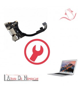 "Remplacement Connecteur de Charge Jack USB MacBook Air 11"" A1465 Mi 2012"