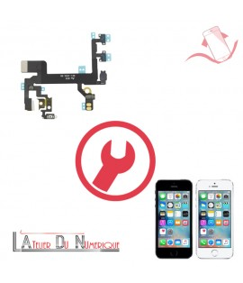 Remplacement nappe power volume iphone SE
