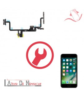 Remplacement nappe power volume iphone 7 Plus Montpellier