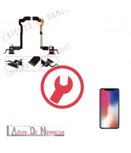 Remplacement connecteur de Charge iPhone X