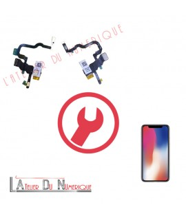 Remplacement nappe Power iPhone X