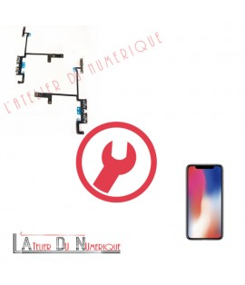 Remplacement Nappe Volume iPhone X