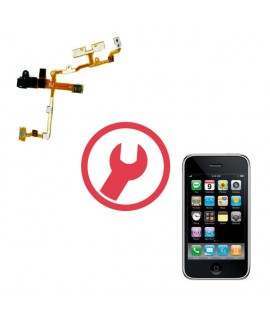 Remplacement nappe power volume jack iphone 3G